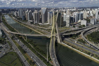 Ponte estaiada Octavio Frias de Oliveira