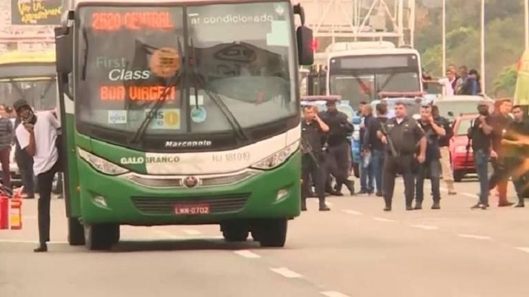 Sequestro de ônibus no Rio