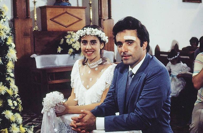 0 casamento de Tony Ramos (Cristiano Vilhena) e Fernanda Torres(Simone Marques Vilhena / Rosana Reis)