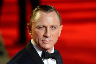 FILE PHOTO: Actor Daniel Craig arrives for the royal world premiere of the new 007 film