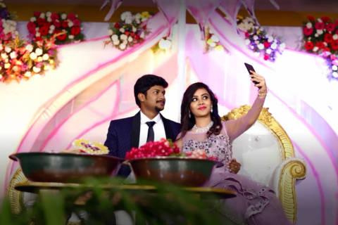 Casamento do jovem casal indiano Pranay Perumalla e Amrutha Varshini. Credito: Reprodução