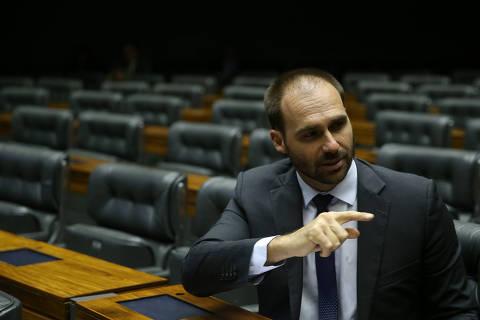 Parecer sobre Eduardo encomendado por líder do governo não descarta nepotismo