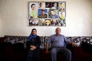 Hussein and Suha Abu Khdeir, whose son's murder is the subject of the HBO series