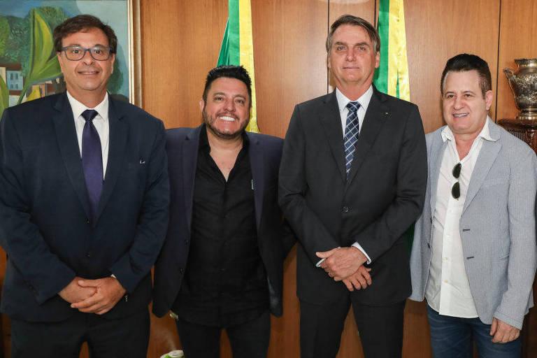 Bruno e Marrone se tornam Embaixadores do Turismo