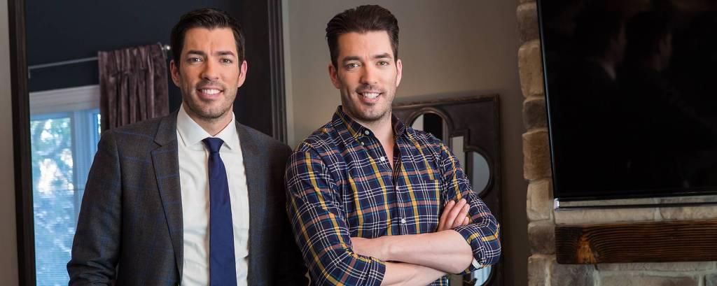 Drew e Jonathan Scott estreiam 8ª temporada de Irmãos à Obra