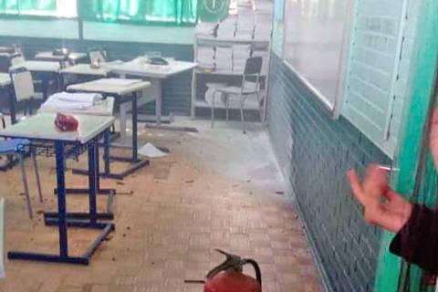 Jovem invade escola no RS e ataca estudantes com machado