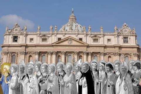 80% dos santos reconhecidos pela Igreja Católica ainda são homens