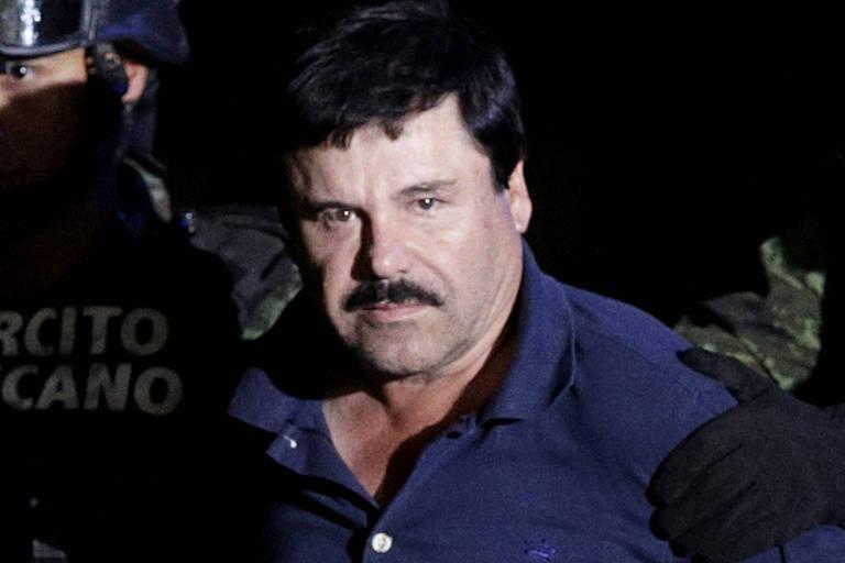 O traficante de drogas Joaquín Guzmán, conhecido como El Chapo