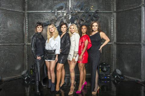 Fernanda Abreu, Giovanna Lancellotti, Regiane Alves, Luísa Sonza, Dandara Mariana e Luíza Tomé