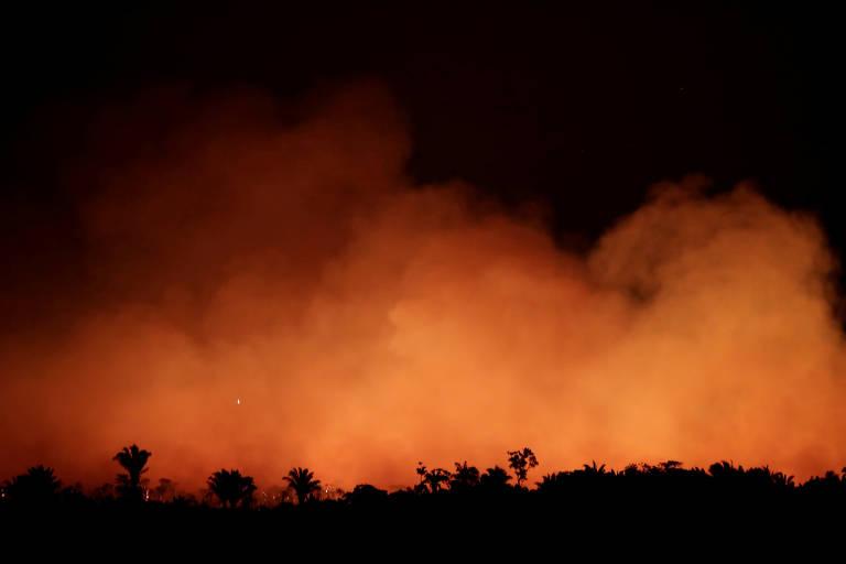 Queimadas se espalham na Amazônia