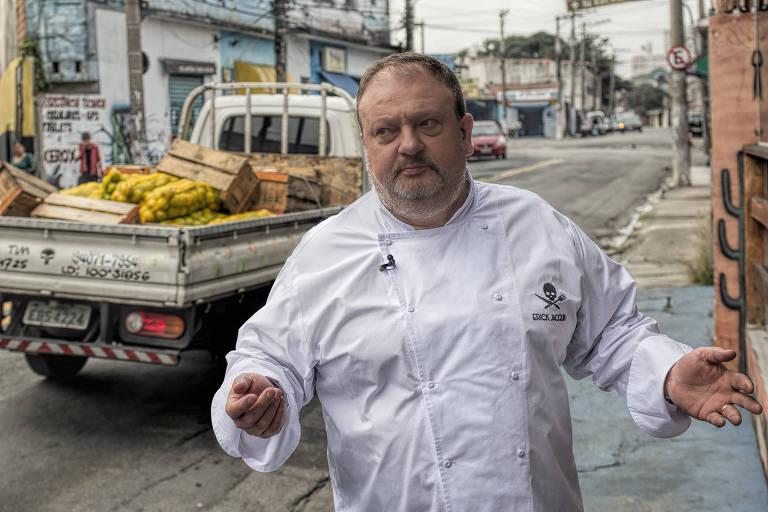 Erick Jacquin na segunda temporada de Pesadelo na Cozinha
