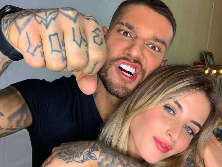 Lucas Lucco e a noiva, Lorena