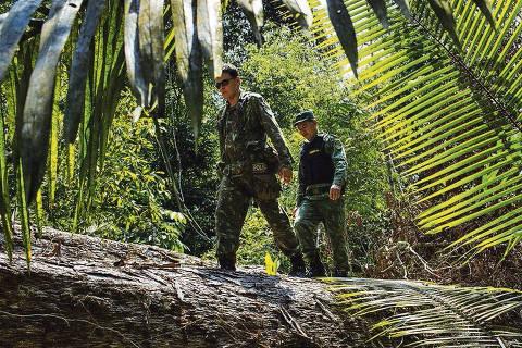 Teoria conspiratória da ditadura guia Bolsonaro na Amazônia