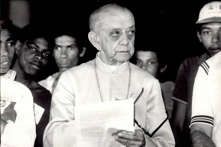 O arcebispo emérito de Olinda e Recife, dom Helder Câmara