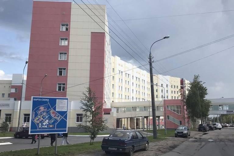 Três vítimas da radiação foram levadas para o hospital regional de Arkhangelsk