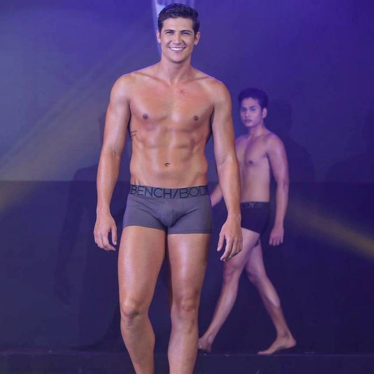 O brasileiro Carlos Franco ficou entre os cinco finalistas do Mister World 2019