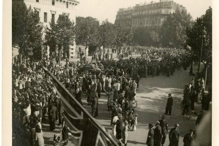Imagens presentes no Museu da Liberação, em Paris