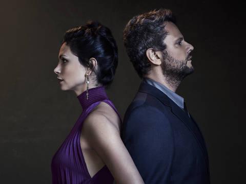 """Os atores Morena Baccarin e Selton Mello protagonizam a nova temporada da série """"Sessão de Terapia"""""""