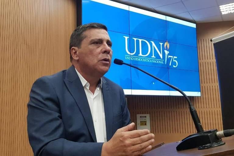Marcus Alves de Souza, presidente da nova UDN