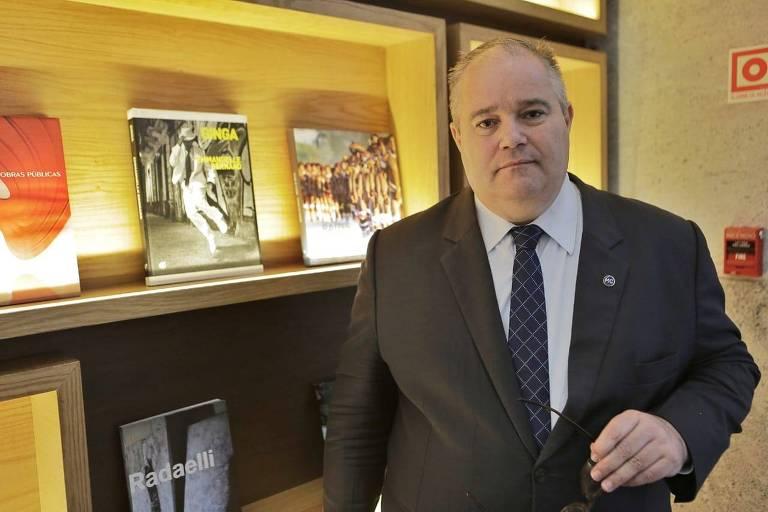 O secretário especial de Cultura do governo federal, Henrique Medeiros Pires