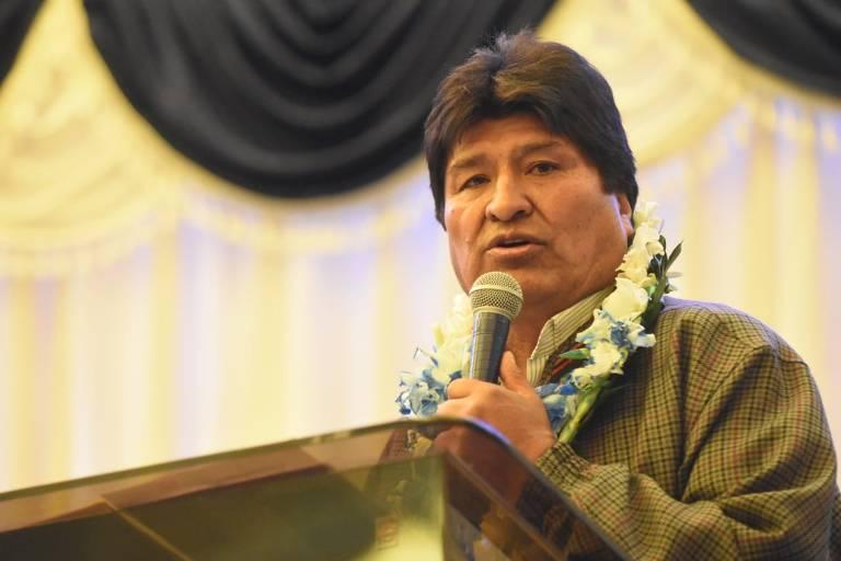 Este é Evo Morales