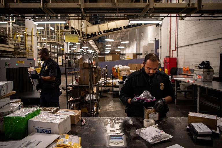 Fentanil chega aos EUA pelo correio