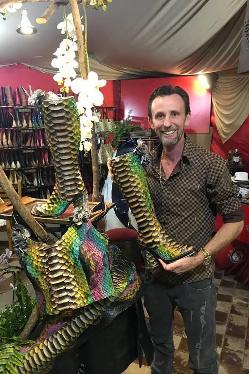 Empresário Olívio Martins lança bota de R$ 100 mil na Festa do Peão de Barretos