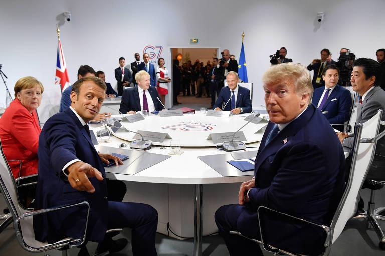 Trump nega tensão no G7 e lamenta não elevar mais tarifas sobre China