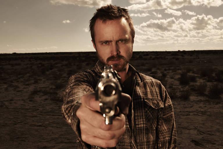 Jesse Pinkman (Aaron Paul) em cena de Breaking Bad