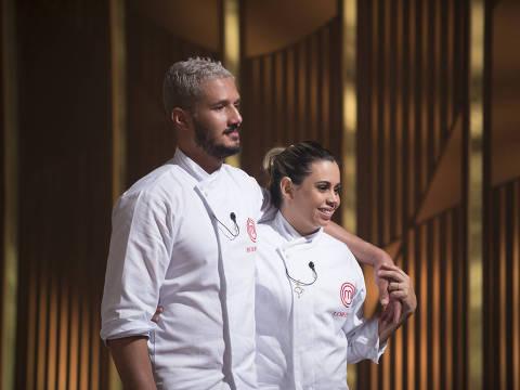 Episódio 22 - final (25/08): Rodrigo e Lorena.  Crédito: Carlos Reinis/Band