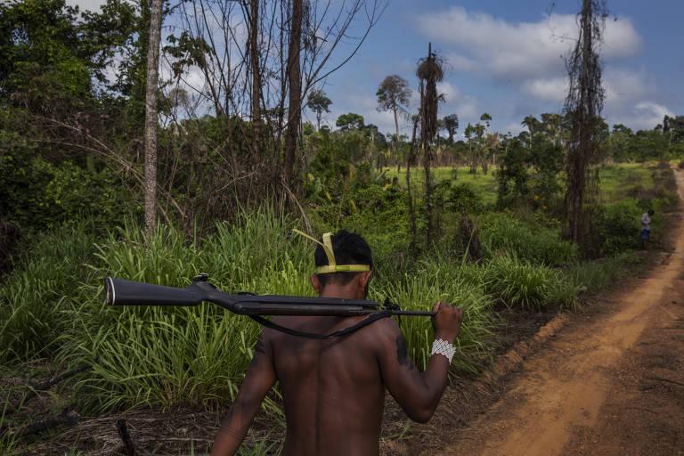 Abandonados pelo governo federal, índios xikrin retomam área de grileiros no PA