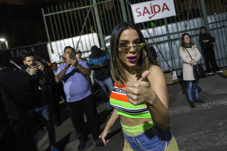 Show da cantora Anitta no Farraial Sertanejo 2019