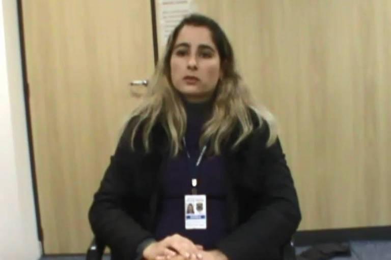 A delegada da Polícia Federal Daniele Gossenheimer Rodrigues, em depoimento