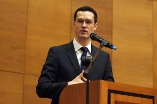 O chefe da força-tarefa da Operação Lava Jato em Curitiba, procurador Deltan Dallagnol