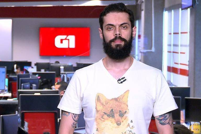 Cauê Fabiano, repórter do G1 em 1 Minuto