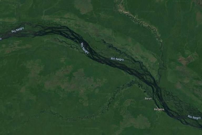 Região do rio Negro, no Amazonas, é uma das áreas do país onde reservas minerais coincidem com terras indígenas, segundo o governo