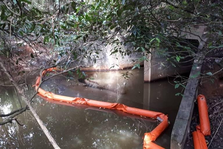 vazamento de óleo na Refinaria Abreu e Lima, em Pernambuco, atingiu área de mangue, segundo o Sindipetro (Sindicato dos Petroleiros de Pernambuco e da Paraíba)