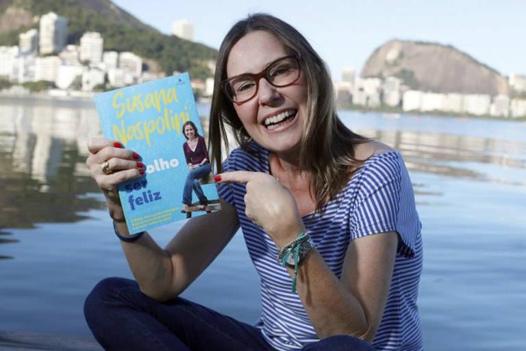 Susana Naspolini lança o livro 'Eu Escolho Ser Feliz'
