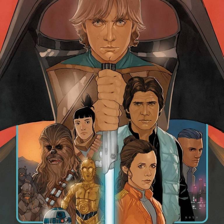 Capa da última HQ de Star Wars