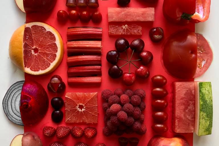 Americano faz da organização dos alimentos uma arte