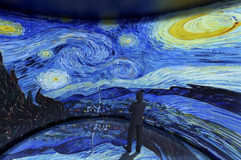 """Exposição """"Paisagens de Van Gogh"""" no Shopping Higienópolis"""