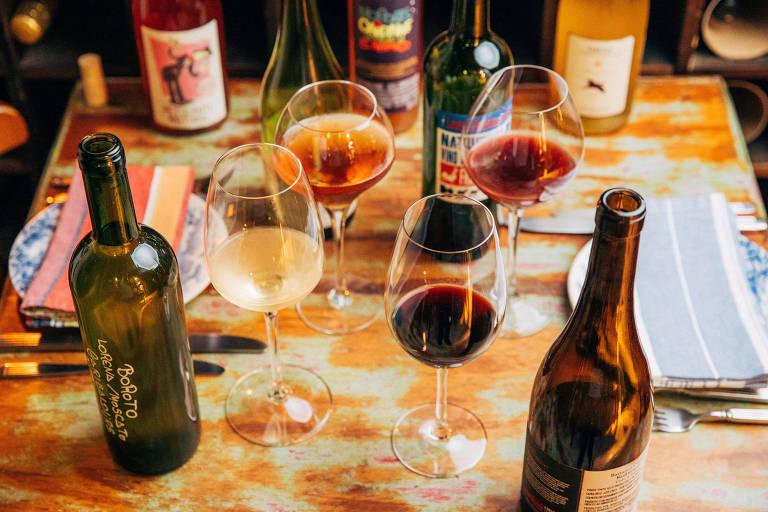 Enoteca Saint Vinsaint serve vinhos orgânicos