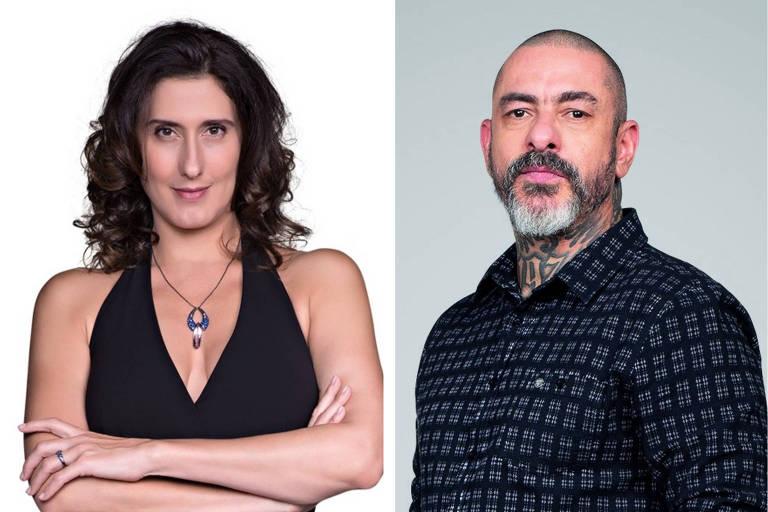 Paola Carosella e Henrique Fogaça ganham programas solos a partir de 2020 na Band