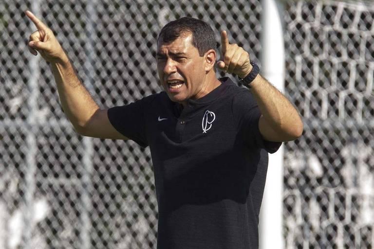 O técnico Fábio Carille apostou suas fichas na Copa Sul-Americana e tem nesta quinta (29), contra o Fluminense, o jogo-chave