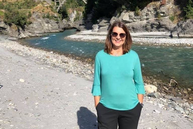 Empresária do ramo de turismo, Ana Luíza Conte