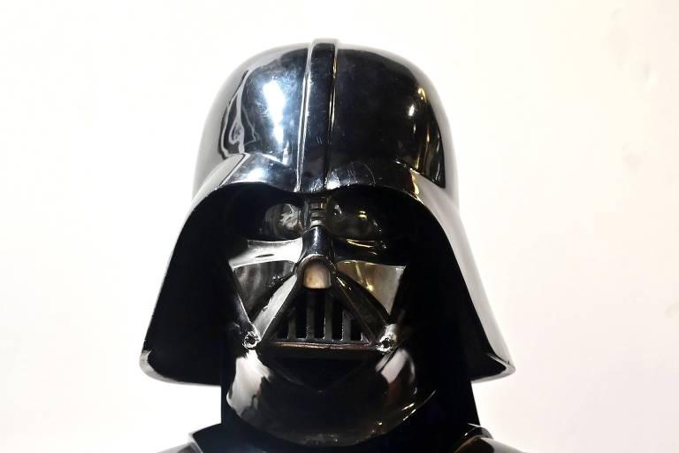 Capacete de Darth Vader usado no filme de 1980