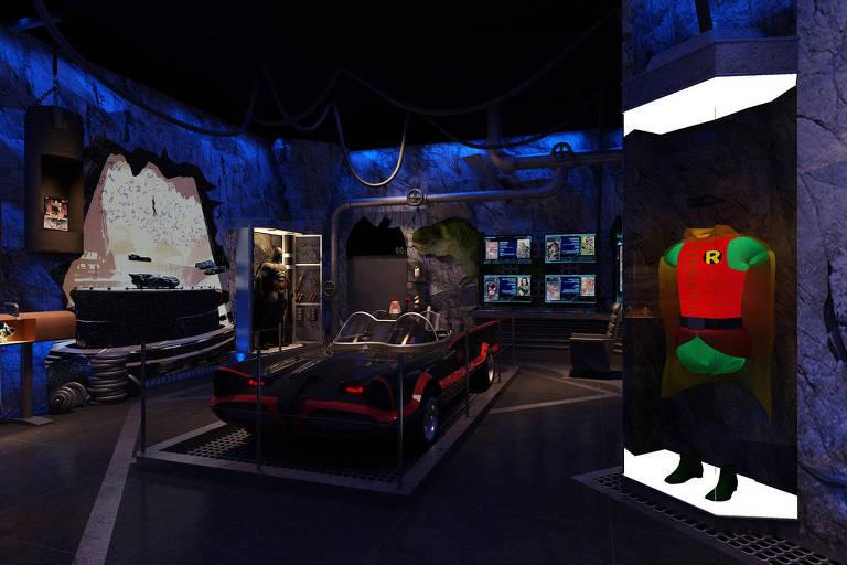 Mostra de Batman tem Batmóvel, 500 itens e ingresso especial de R$ 1.890