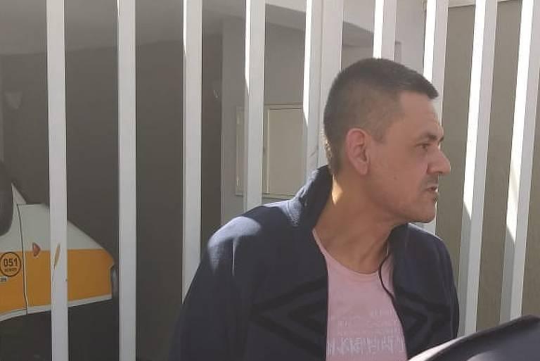 Empresário Pablo Russel Rocha, que estava foragido e foi preso em Taubaté