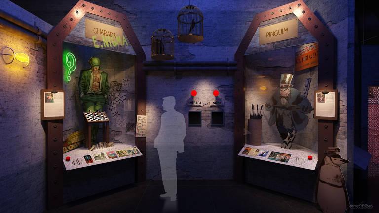 Batman ganha exposição no Memorial da América Latina