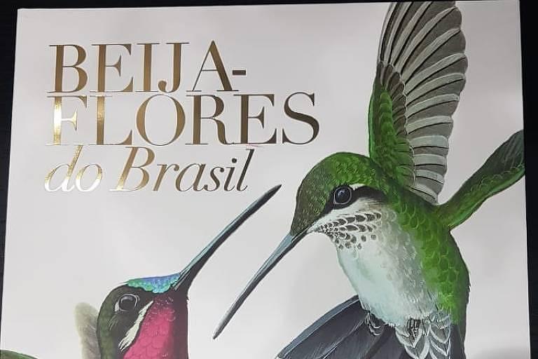 """Governador João Doria distribuiu o livro """"Beija-flores do Brasil"""", de Eduardo Parentoni Brettas e Luis Fábio Silveira, ao CEO da Volks para a América Latina"""